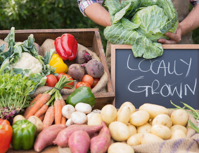 Locally-Grown New Jersey Fresh Produce